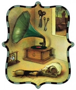 Still Life With Gramophone and Hercules Beetle